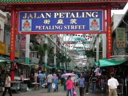 Chinatown Are in Kuala Lumour